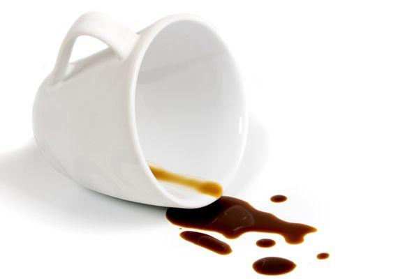 Koffievlek glycerine